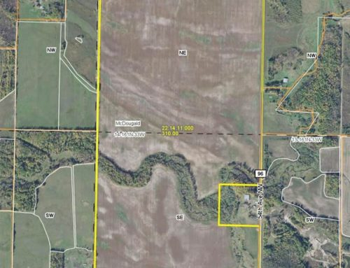 310+/- acres with 274+/- tillable Sec. 14 McDougald Twp – Lake of the Woods Co. MN